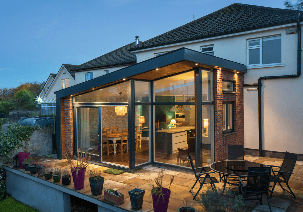 Shomera house extensions and garden rooms for Large garden studio